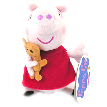 Peppa Pig Supersoft Collectables