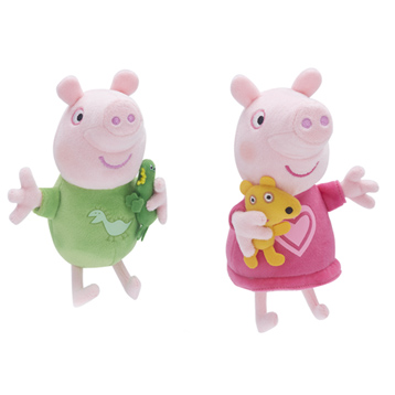 Talking Bedtime Peppa & George