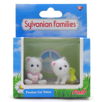 Persian Cat Family Figures