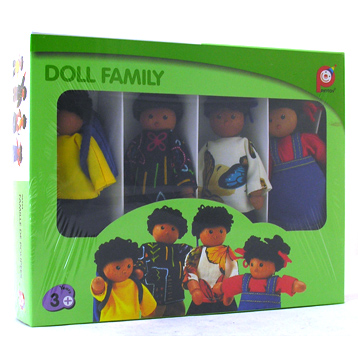 Black Doll Family
