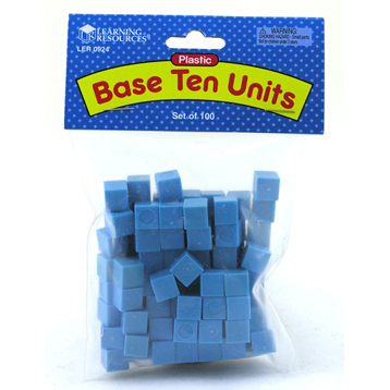 Plastic Base Ten 100 Units