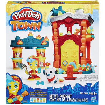 Town Firehouse Playset