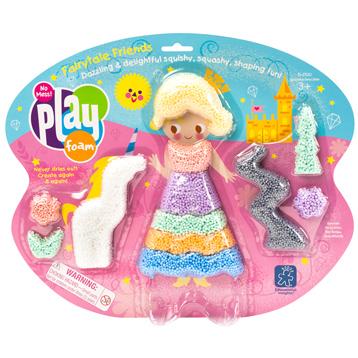 Playfoam Themed Fairytail Friends