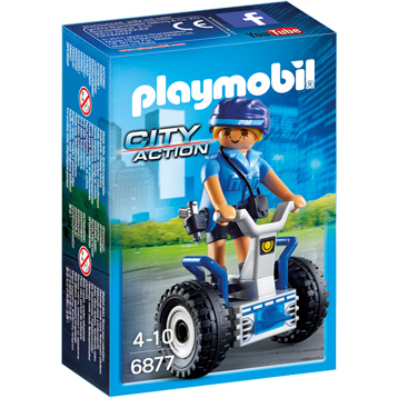 City Action Policewoman with Balance Rider
