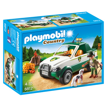 Forest Pick Up Truck