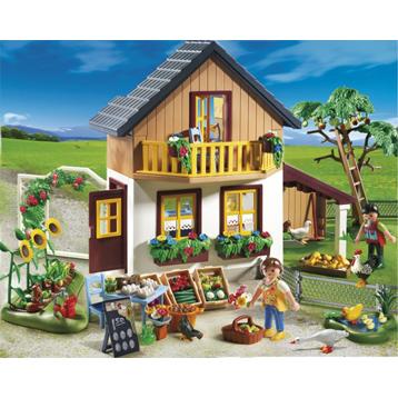 Farm House with Shop