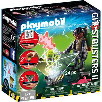 Ghostbusters II Winston Zeddemore Playset
