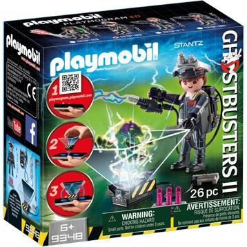 Ghostbusters II Raymond Stantz Playset