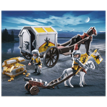 Lion Knight's Treasure Transport