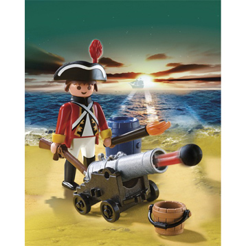 Redcoat Cannon Officer