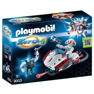 Skyjet with Dr. X & Robot
