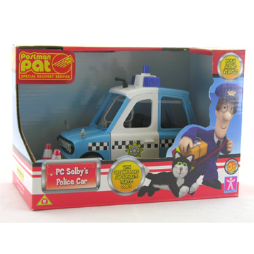 PC Selbys Police Car from Postman Pat | WWSM
