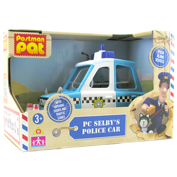 PC Selby's Police Car
