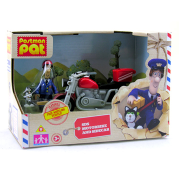 Postman Pat's SDS Motorbike with Sidecar