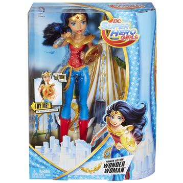 Super Hero Girls Power Action Wonder Woman Doll
