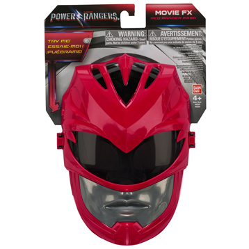 Red Ranger Mask with Sound
