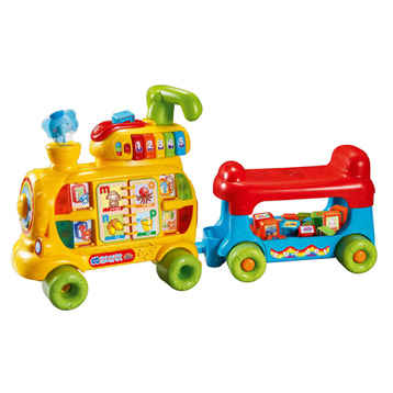 Push and Ride Alphabet Train