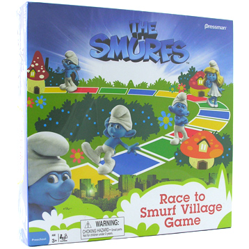 Race to Smurf Village Game