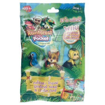 Rainforest in My Pocket Tropical Falls Collectable Pack