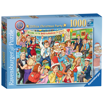 Best of British #19 Office Christmas Party Jigsaw Puzzle (1000 Piece)