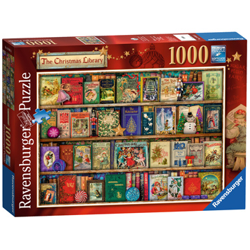 The Christmas Library Jigsaw Puzzle (1000 Piece)