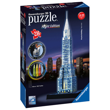 Chrysler Building 3D Puzzle Night Edition (216 Piece)