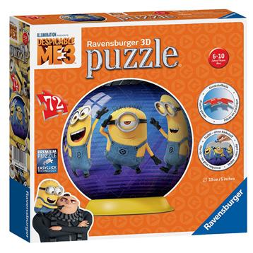 Despicable Me 3 72 pc 3D Jigsaw Puzzle
