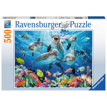 Dolphins 500 Piece Jigsaw Puzzle