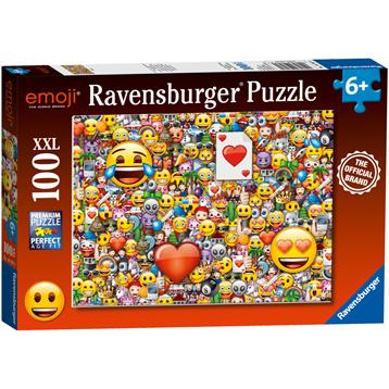 Emoji Jigsaw Puzzle (XXL 100 Piece)