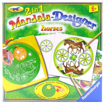 Horses Style Mandala Designer