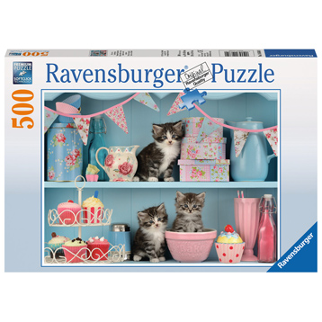 Kittens & Cupcakes 500 Piece Jigsaw Puzzle