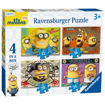Minions 4 In a Box
