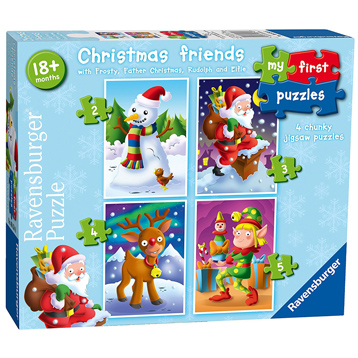 My First Puzzle Christmas Friends