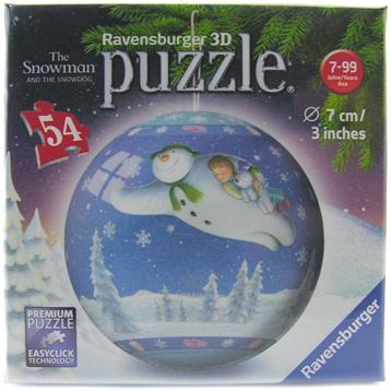 3D Puzzle (54 Piece)