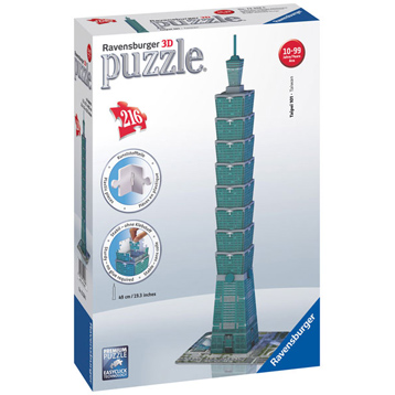 Taipei Tower 3D Puzzle