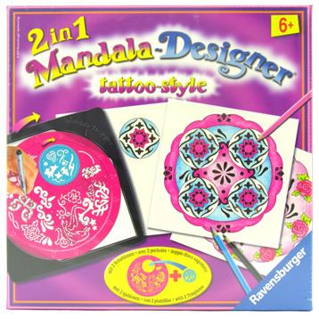 Tattoo Style Mandala Designer