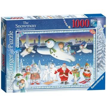 The Snowman & the Snowdog 1000 Piece