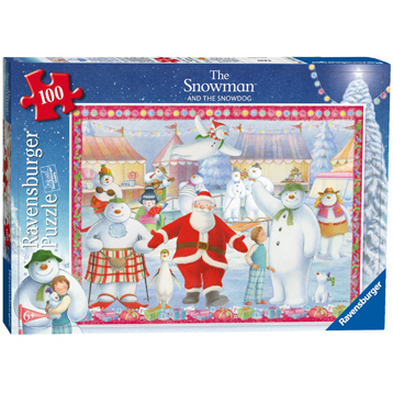 The Snowman & the Snowdog 100 Piece