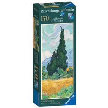 The National Gallery Van Gogh Wheatfield with Cypresses Jigsaw Puzzle (170 Piece)