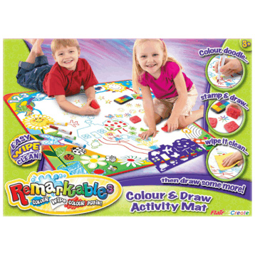 Remarkables Colour &#38; Draw Activity Mat