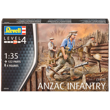 ANZAC Infantry (1915) (Level 4) (Scale 1:35)