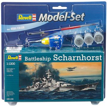 Battleship Scharnhorst (Scale 1:1200)