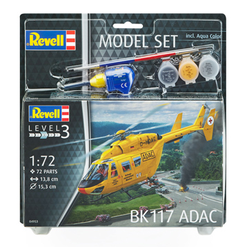 BK117 ADAC Model Set