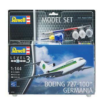 Boeing 727-100 Germania Model Set