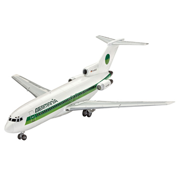 Revell Boeing 727-100 Germania (Level 3) (Scale 1:144)