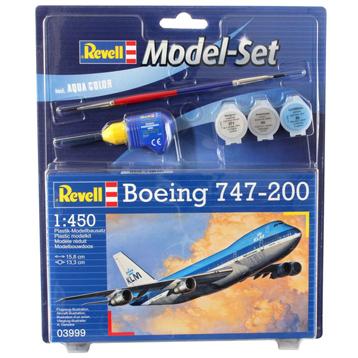 Boeing 747-200 Model Set