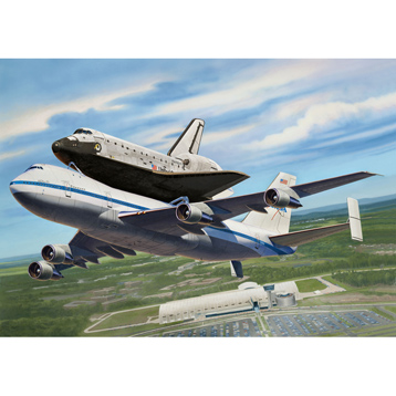 Boeing 747 SCA & Space Shuttle