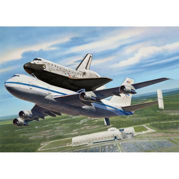Boeing 747 SCA & Space Shuttle