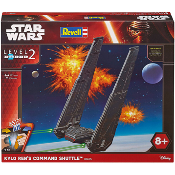 Revell Build & Play Kylo Ren's Command Shuttle (Scale 1:93) (Level 2)