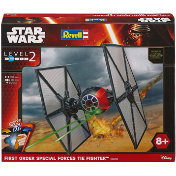 Revell Build & Play First Order Special Forces TIE Fighter (Scale 1:35) (Level 2)